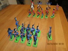 BRITAINS DEETAIL NAPOLEONIC BRITISH & FRENCH WATERLOO FOOT / CAVALRY 1:32 SCALE