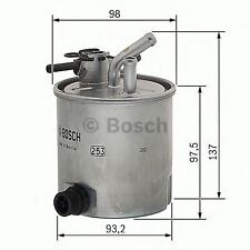 NEW ENGINE FUEL FILTER BOSCH OE QUALITY REPLACEMENT F026402059