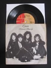 """Queen 1st Edition 45RPM Music 7"""" Single Records"""