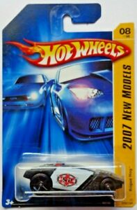 2007 Hot Wheels FIRST EDITIONS Rogue Hog 8/36 (Black)