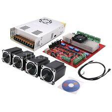 MACH3 CNC 4-Axis Kit (TB6560 Stepper Motor Driver Board Controller+Nema23+Power