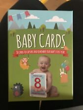 baby milestone cards brand new never been used perfect for a gift