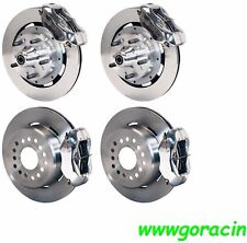 "WILWOOD DISC BRAKE KIT,1959-1964 IMPALA,BEL AIR,12"" ROTORS,POLISHED CALIPERS"