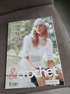 Catalogue magazine tricot Phildar TENDANCES CREATEURS été
