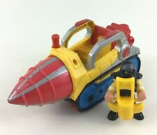 Imaginext Drill Construction Vehicle Figure with Jack Hammer Accessory Lot Toy
