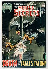Dc - House Of Secrets #91 - Adams Cover - G- 1971 Vintage Comic - Some Rust