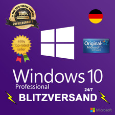 Microsoft Windows 10 Pro 64/32 BIT Produktschlüssel VOLLVERSION