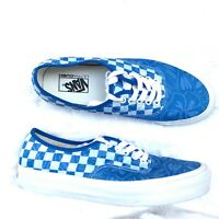 VANS AUTHENTIC LX JUNGLE CHECK JACQUARD 9 FLORAL CHECKERBOARD ULTRACUSH