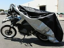 XL Waterproof Motorcycle Storage Cover For Honda VTX Suzuki VS Vulcan Cruiser