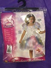 Infant Size Rainbow Skirt Cute Ballerina Princess Dress Kids Halloween Costume