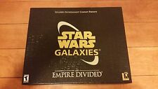 💥Star Wars Galaxies: An Empire Divided Collector's Edition (PC, 2003) Complete