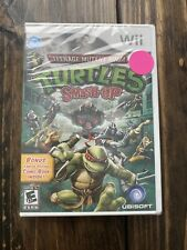 BRAND NEW FACTORY SEALED Teenage Mutant Ninja Turtles Smash Up - Nintendo Wii