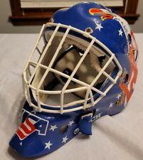 Team USA Garth Snow Itech Replica 1994 Olympic Hockey Goalie Mask Helmet Beat Up
