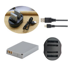 NB-5L Battery / USB Charger for Canon PowerShot SD990 SX210 IS SX220 SX230 HS