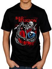 Official Hombre Bad Religion Calavera Camiseta Recipe For Hate True North Eat O