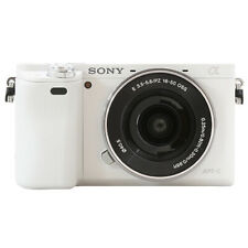Sony Alpha a6000 Mirrorless Digital Camera with 16-50mm Lens White