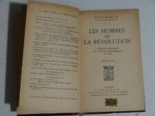 Les hommes de la révolution par Louis Madelin 1928 ( Danton, Talleyrand )