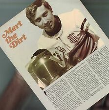 vintage MERT The DIRT Lawwill MOTORCYCLE Racing Article/ Photos