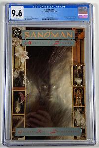 Sandman #1 (DC Vertigo 1989) CGC 9.6 NM+ / 1st Morpheus / White Pages