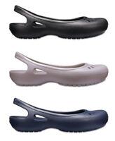 Crocs Womens Kadee Croslite Slip Ons Slingbacks Flat Shoes