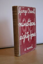 George Orwell (1949) 'Nineteen Eighty-Four' aka '1984', UK first edition 1/1