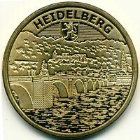 Memodaille ●●● Heidelberg (2) - Alte Brücke und Schloß ●●● Souvenir Münze