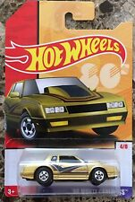 2019 Hot Wheels Target Decades Throwback 4/8 '86 MONTE CARLO SS Gold w/BW Spokes