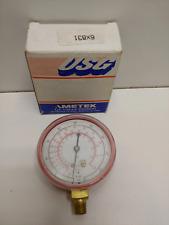 New Old Stock Us Gauge 25 R 22 R 12 R 502 Refrigerant Pressure Gauge P1780