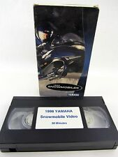 VHS - 1998 Snowmobiles YAMAHA, 30 minutes, promotional video