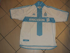 !! Maillot foot ancien vintage old shirt jersey OM MARSEILLE Taille XL !!