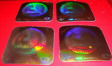 1990 Upper Deck Vintage 80's Logo Hologram Stickers St. Louis Cardinals Lot of 4