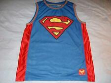 Superman #1 Man of Steel Dc Comics Universe Blue 2014 Jersey Mens 2Xl 50/52 used