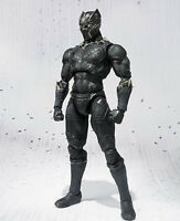 Super Hero Captain America 3 Black Panther PVC Action Figure Toy Gift New No Box