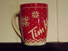 "Tim Hortons Coffee Mug ""Christmas Sweater"" Limited Edition 2015"