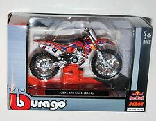 BURAGO-KTM 450 SX-F (# 5) red bull Factory Racing-modèle de moto échelle 1:18