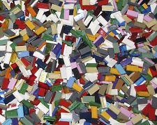 LEGO LOT OF 100 NEW ASSORTED 1 X 2 TILES MANY COLORS WHITE BLUE RED  GREEN MORE