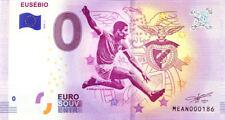 PORTUGAL Eusébio, N° de la 2ème liasse, 2018, Billet 0 € Souvenir
