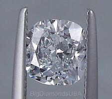 1.80 CARATS CUSHION CUT CERTIFIED LAB GROWN DIAMOND D SI1