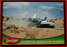 CAPTAIN SCARLET - Card #48 - Training Spectrum Cadets - Cards Inc. 2001