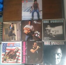 """Bruce Springsteen X7 12"""" Vinyl Singles Glory Days The River Brilliant Disguise"""