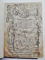 Cinquecentina Illustrato Del Modo di Misurare le Distantie 1589 160 xilografie