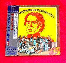KINKS Preservation Act 1 JAPAN SHM MINI LP CD VICP-70006