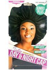 Satin Sleep Cap Jumbo Plus Large Hairstyles Rollers moisture lock Elastic Band