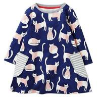 Toddler Baby Kids Girls Dress Outfit Clothes Casual Girl Dress 2T 3T 4T 5 6 7