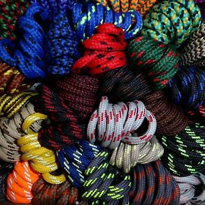 Strong Hiking Boot Shoe Laces - Huge choice 50+ patterned designs - Length 110cm