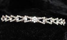 Vintage Diamante Crystal Design Headband Hair Band Alice Band Bride Bridesmaid