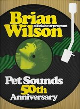 Beach Boys/Brian Wilson Amazing Mint/Unused Pet Sounds Tour Book 50 Anniversary!