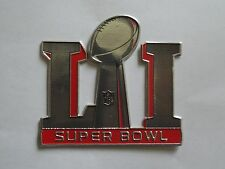 PLASTIC Atlanta Falcons New England Patriots Super Bowl LI 51 FlexChrome Patch