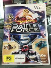 Hot Wheels: Battle Force 5 Nintendo Wii