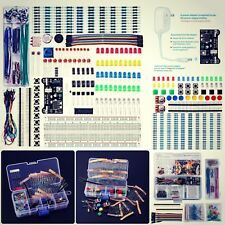 Electronics Component Kit Bundle With Breadboard Cable Resistor LED With Box New